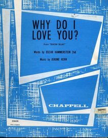 Why Do I Love You - From