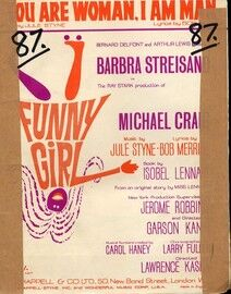 You Are Woman I Am Man. Barbra Streisand in Funny girl