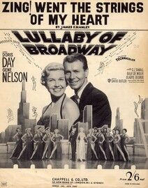 Zing went the Strings of my Heart - Bob Hope, Doris Day and Gene Nelson