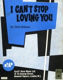 Copy of I Can\'t Stop Loving You - As performed by Ray Charles