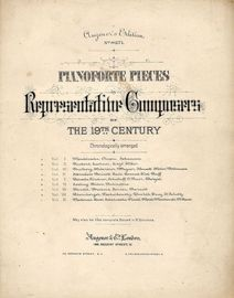 Augener's Edition No. 8271 - Pianoforte Pieces by Representative Composers of The 19th Century