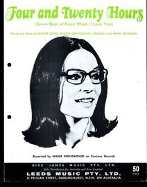 Four and Twenty Hours (Seven days of the week, I Love You) - Featuring Nana Mouskouri