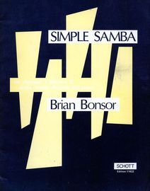 Simple Samba - For Descant 1, Descant 2, Treble Recorder and Piano - Edition No. 11422