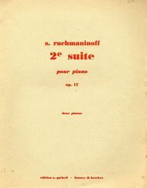 2e Suite pou Piano - Op. 17 - For Two Pianos