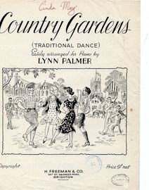 Country Gardens - Traditional Dance, easily arranged for piano solo