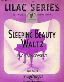The Sleeping Beauty Waltz - For Piano Solo - Lilac series No. 40