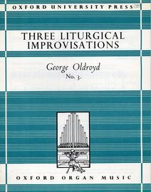 Three Liturgical Improvisations for Organ - No. 3