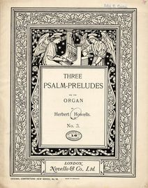 Three Psalm Preludes for the Organ - Op. 32, No. 3