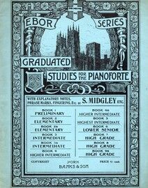 Ebor Series Graduated Studies for the Pianoforte - Banks Edition - Book 5 - Highest Intermediate Grade