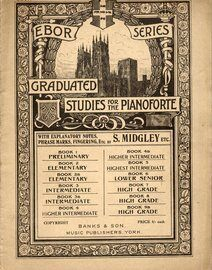 Ebor Series Graduated Studies for the Pianoforte - Banks Edition - Book 7 - High Grade