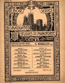Ebor Series Graduated Studies for the Pianoforte - Banks Edition - Book 9b - High Grade
