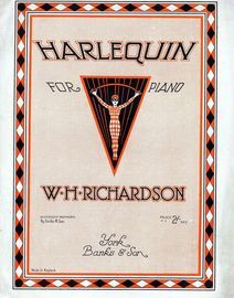 Harlequin - For Piano