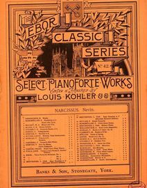 Narcissus - Op. 13, No. 4 - The Ebor Classic Series of Select Pianoforte Works - No. 42