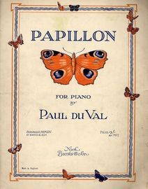 Papillon - For Piano
