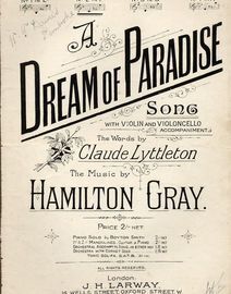 A Dream of Paradise - Key of F major - Compass C up to E