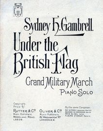 Under the British Flag - Grand Military March - Piano Solo
