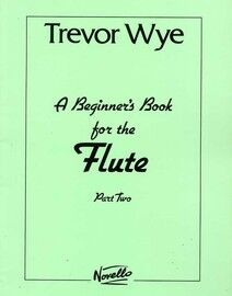 A Beginner's book for the Flute - Part Two