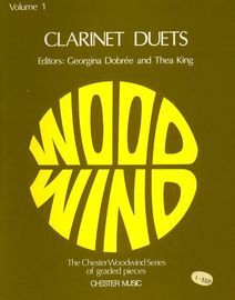 Clarinet Duets - Volume 1 - The Chester Woodwind Series of Graded Pieces