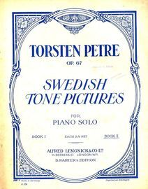 Swedish Tone Pictures for Piano Solo - Book 2 - Op. 67