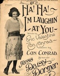 Ha ha I'm Laughing at You - Featuring Miss Daisy Dormer