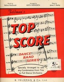 Rose of Washington Square - Top Score Dance Band Series - Specially Arranged by Keith Papworth to suit any Combination from Trio to Full Dance Orchest