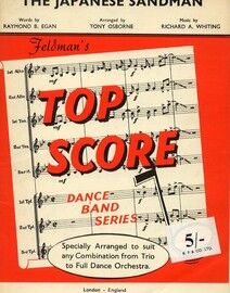 The Japanese Sandman - Top Score Dance Band Series - Specially Arranged by Tony Osborne to suit any Combination from Trio to Full Dance Orchestra