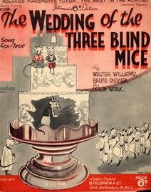 The Wedding of the Three Blind Mice - Song Fox Trot - No. 2246 - Ukulele Acc.