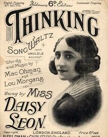 Thinking - Song waltz with Ukulele accompt. - Featuring Miss Daisy Leon