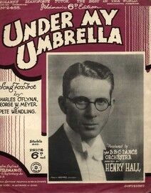 Under my Umbrella - Song Fox Trot - Featuring Henry Hall