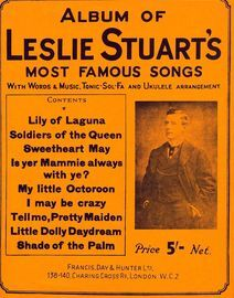No. 1 Album of Leslie Stuarts most famous songs, with words & music, tonic solfa and ukelele arrangement,