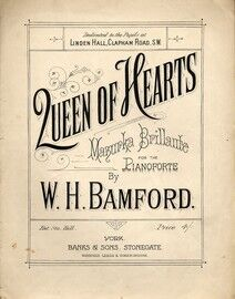Queen of Hearts - Mazurka Brillante - For Pianoforte