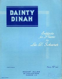 Dainty Dinah - Entr'acte for Piano