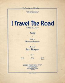 I Travel the Road (who cares)  Song in the key of E flat major for high voice
