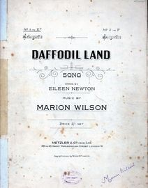 Daffodil Land - Song in E Flat
