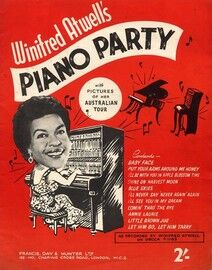 Winifred Atwell's Piano Party - 11 pieces of music as Recorded by Winifred Atwell on Decca F 11183
