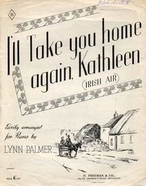 Ill Take You Home Again Kathleen for Piano