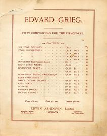 Edvard Grieg - 50 Compositions for Piano