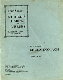 Four Songs from A Child's Garden of Verses