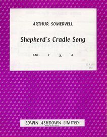 Shepherd's Cradle Song - Song - in the key of G major for medium voice - For Piano and Voice