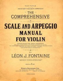 The Comprehensive Scale and Arpeggio Manual for Violin - New Edition with Appendix