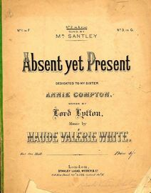 Absent Yet Present - Song in the key of A flat major for medium voice