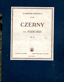 101 Exercises - Op. 261 - Augener Edition No. 8107