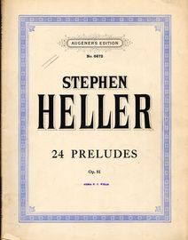 24 Preludes - Op. 81 - Augeners Edition No. 6472