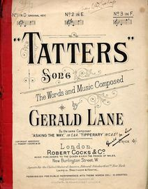 Tatters - Song in the key of F major for High voice