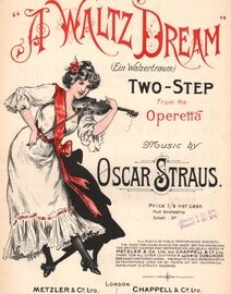 A Waltz Dream - Two-Step from the Operetta - Piano Solo