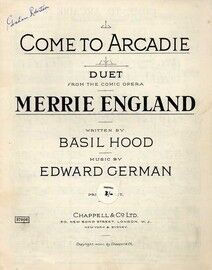 Come to Arcadie - Vocal Duet from the Comic Opera