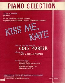 Kiss Me Kate - Piano Selection