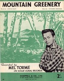 Mountain Greenery - featuring  Mel Torme