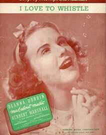 I Love To Whistle -  Deanna Durbin in