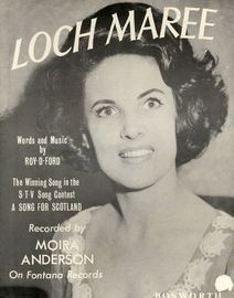 Loch Maree - The Winnign Song in the S.T.V. Song Contest A Song for Scotland recorded by Moira Anderson on Fontana Records